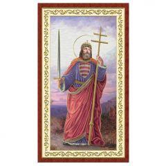 Aranyozott szentkép (Szent István)