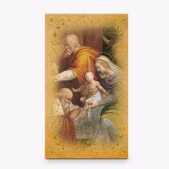 Aranyozott szentkép, Szent Család