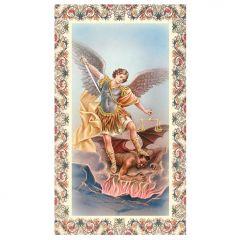 Aranyozott szentkép, Szent Mihály Főangyal