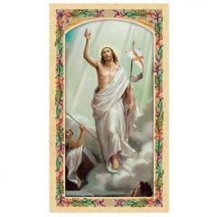 Aranyozott szentkép, Feltámadt Krisztus