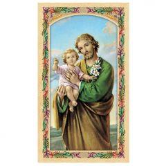 Szent József aranyozott szentkép