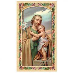 Aranyozott szentkép (Szent József)