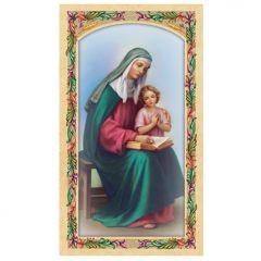 Aranyozott szentkép, Szent Anna